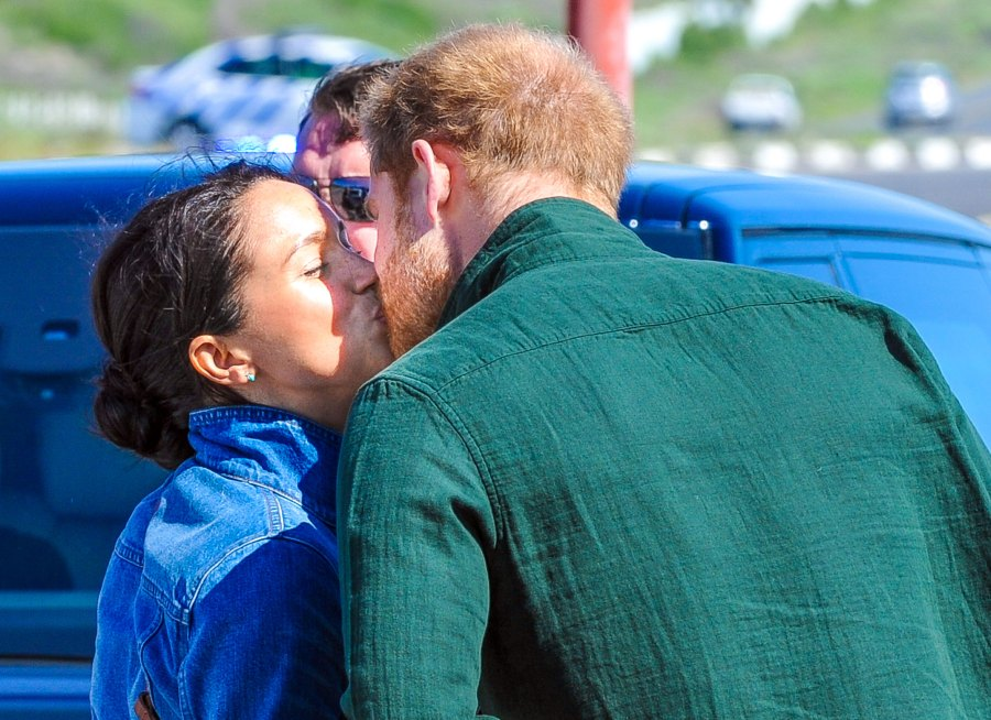 Prince Harry and Duchess Meghan Embark on Royal Tour of Africa With 4-Month-Old Son Archie Day 2