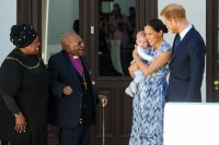 Prince Harry and Duchess Meghan Embark on Royal Tour of Africa With 4-Month-Old Son Archie Day 3