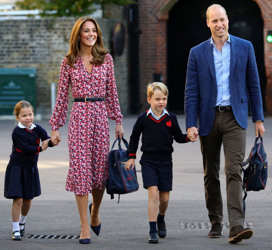 Image result for princess charlotte's first day of school