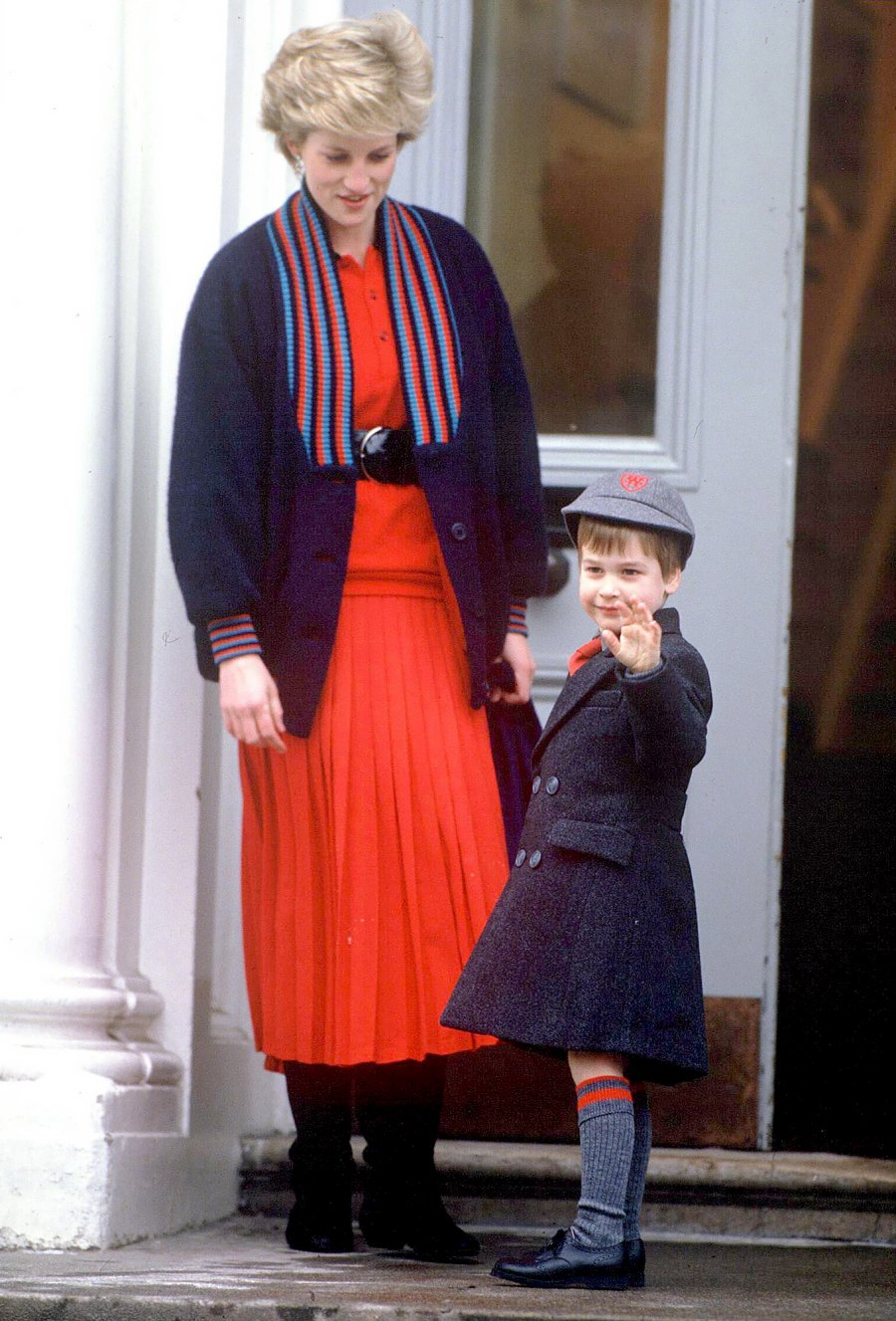 Prince-William's-first-day-at-Wetherby-School