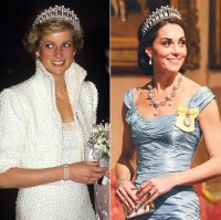 Princess Diana's Jewelry Worn by Duchesses Kate and Meghan