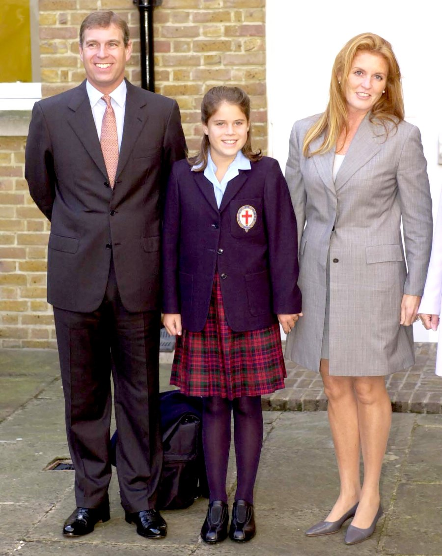 Princess-Eugenie-On-Her-First-Day-At-St-Georges-School-Windsor