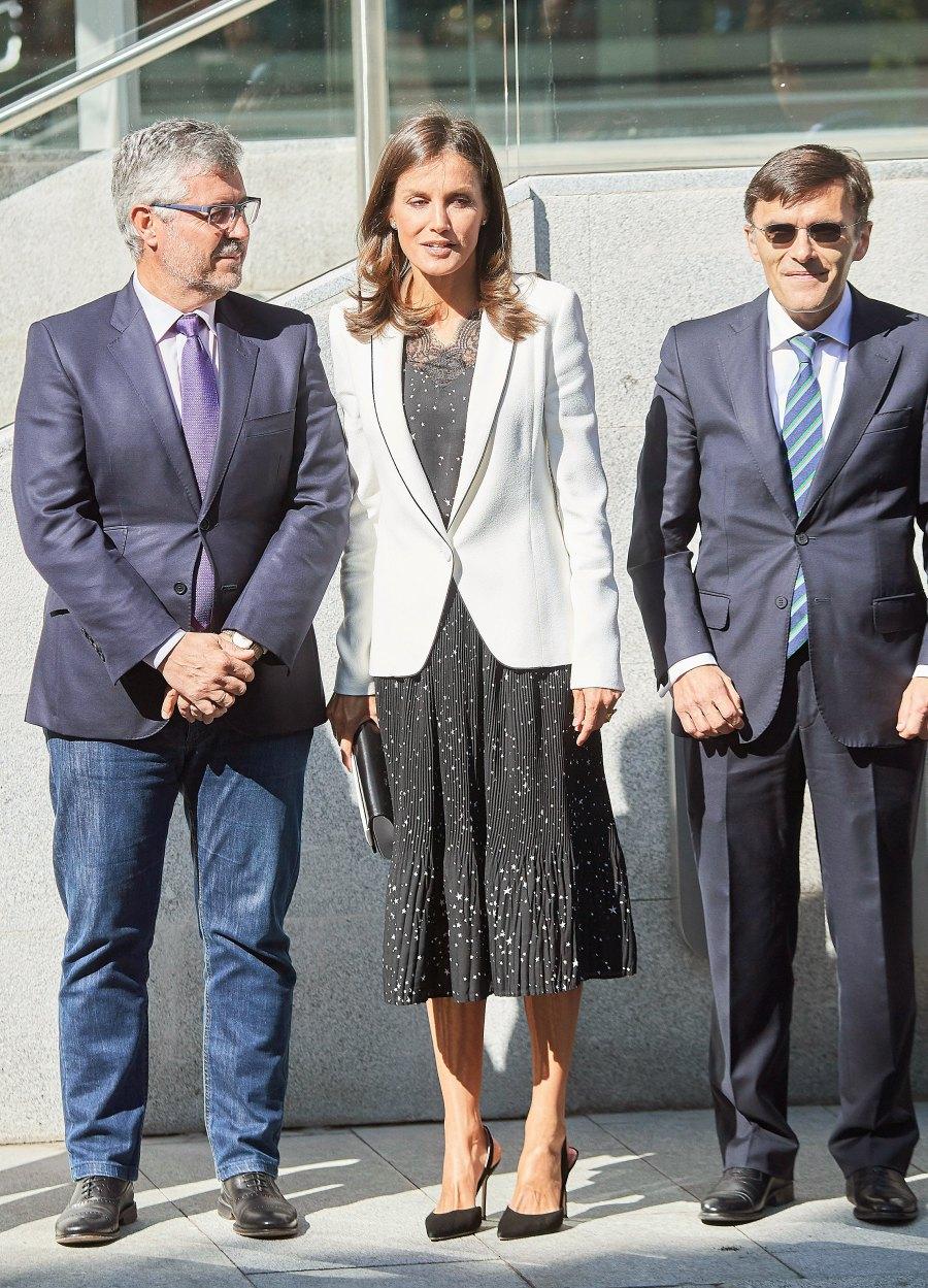 Queen Letizia New Look September 10, 2019