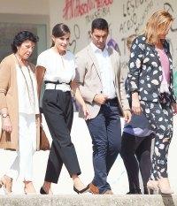 Queen Letizia Workwear September 17, 2019