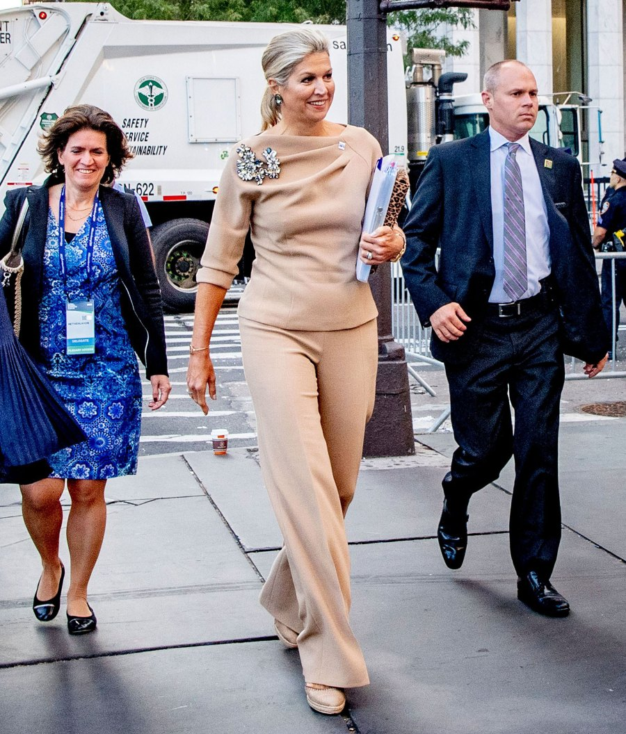 Queen Maxima Beige Look September 25, 2019