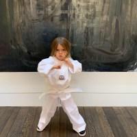 Reign Kardashian Disick Karate Class