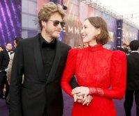 Renn Hawkey and Vera Farmiga Emmys 2019 Celebrity PDA