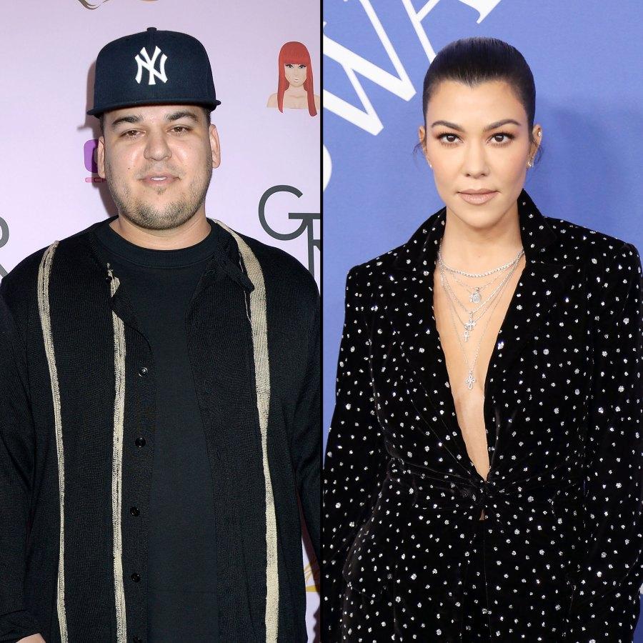 Rob Kardashian and Kourtney Kardashian Good With Lamar Odom Children