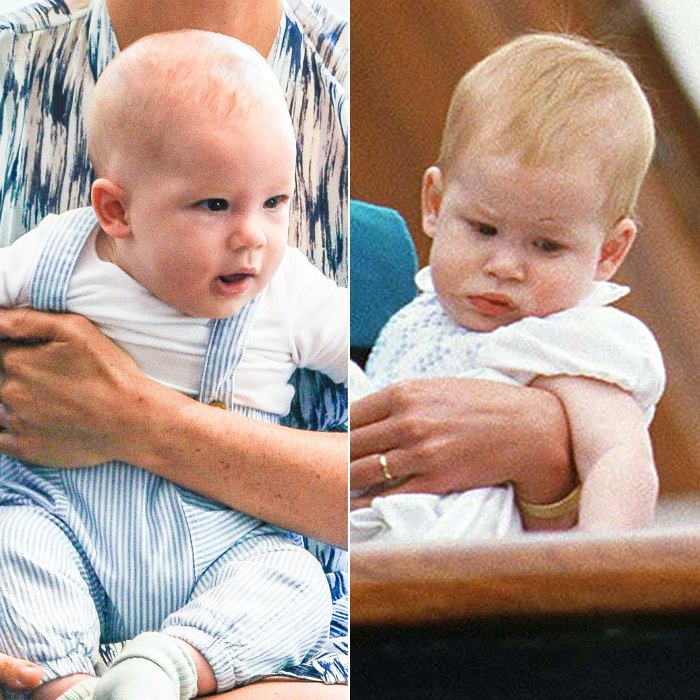 archie looks like young prince harry at 1st royal engagement pics prince harry at 1st royal engagement
