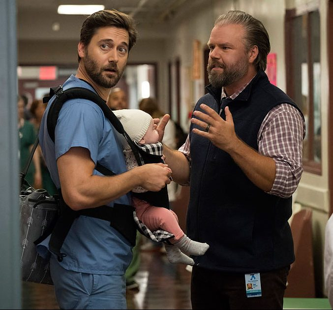 Ryan Eggold as Dr. Max Goodwin and Tyler Labine as Dr. Iggy Frome Shocking Death