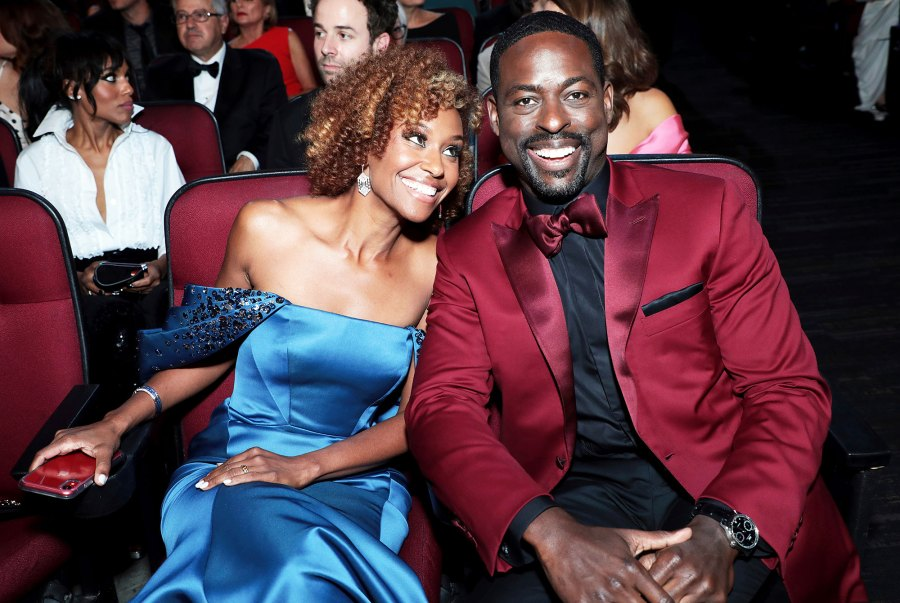 Ryan Michelle Bathe and Sterling K. Brown Inside Emmys 2019