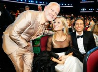 Ryan Murphy Gwyneth Paltrow and Brad Falchuk Inside Emmys 2019