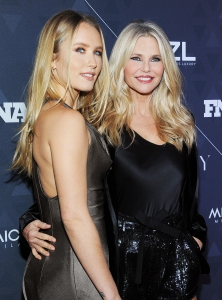 Sailor Brinkley-Cook and Mom Christie Brinkley Beauty Lessons