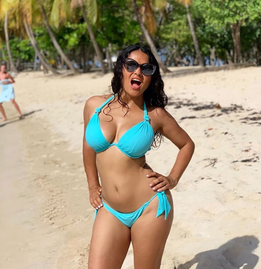 Salma Hayek Bikini Instagram September 2, 2019