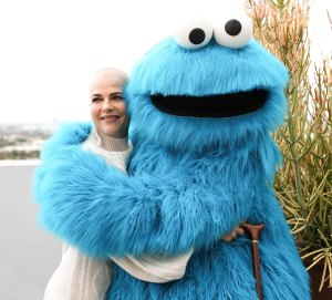 Selma Blair at the H&M x Sesame Street Partnership Celebration