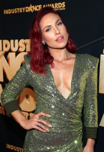 Sharna Burgess Attends Dancing With the Stars Season 28 Premiere After Axing