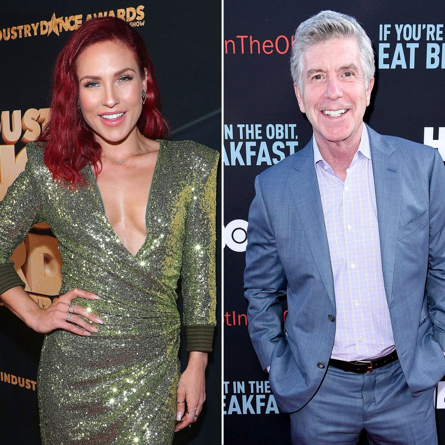 Sharna Burgess Has Lunch With Tom Bergeron