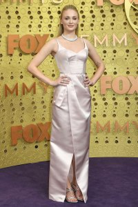 Sophie Turner Game of Thrones Slay Red Carpet Emmys 2019