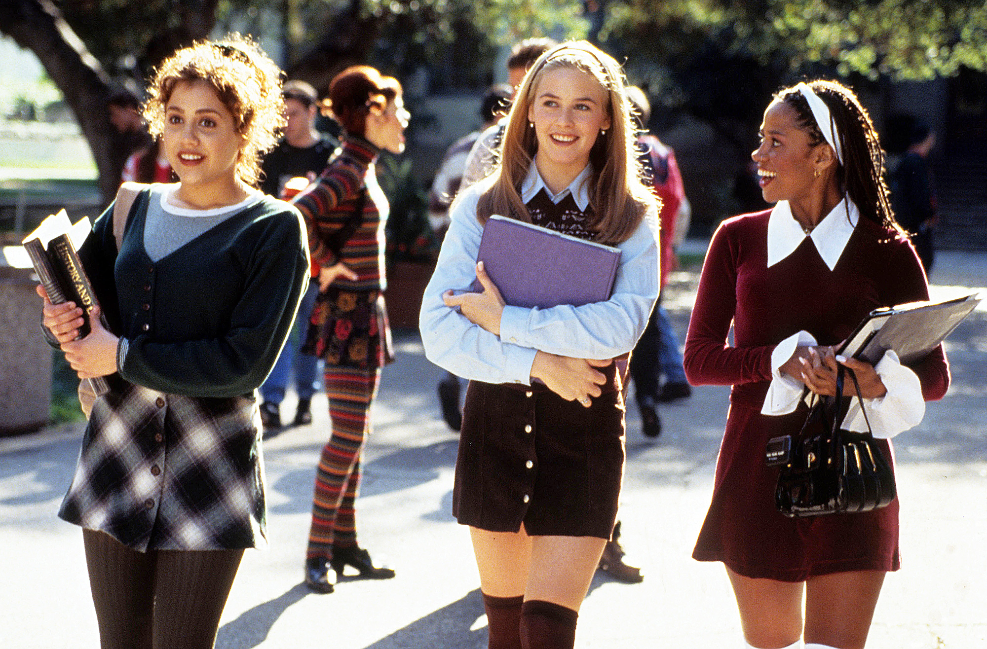 Brittany Murphy Alicia Silverstone and Stacy Dash in Clueless Arrested for Domestic Battery