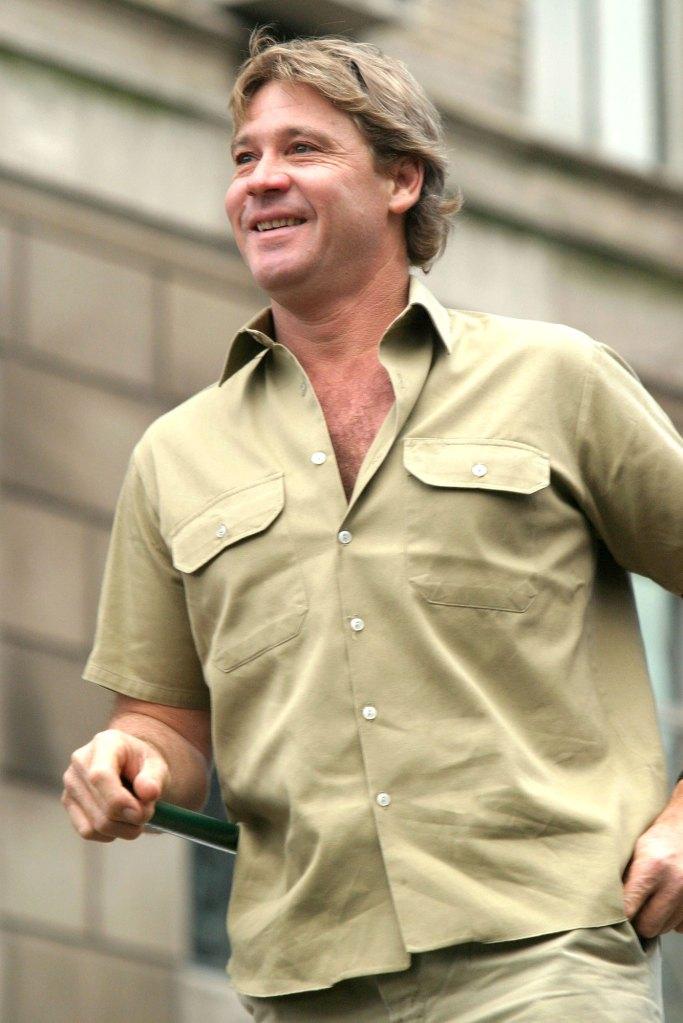 Steve Irwin Thanksgiving Day