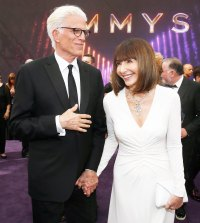 Ted Danson and Mary Steenburgen Emmys 2019 Celebrity PDA