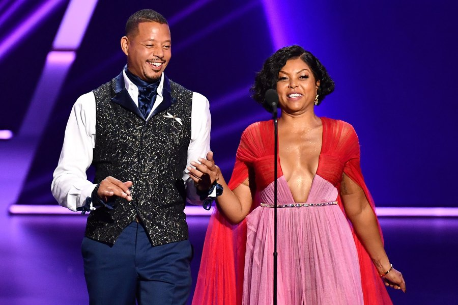Terrence Howard and Taraji P. Henson What You Didn't See on TV Gallery Emmys 2019