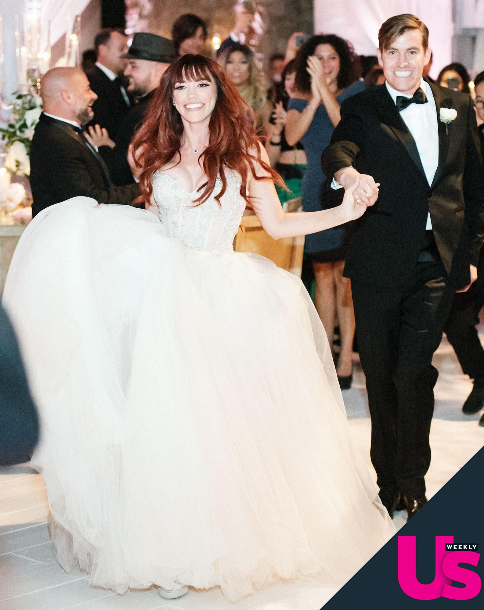 The Pussycat Dolls Jessica Sutta Marries Mikey Marquart