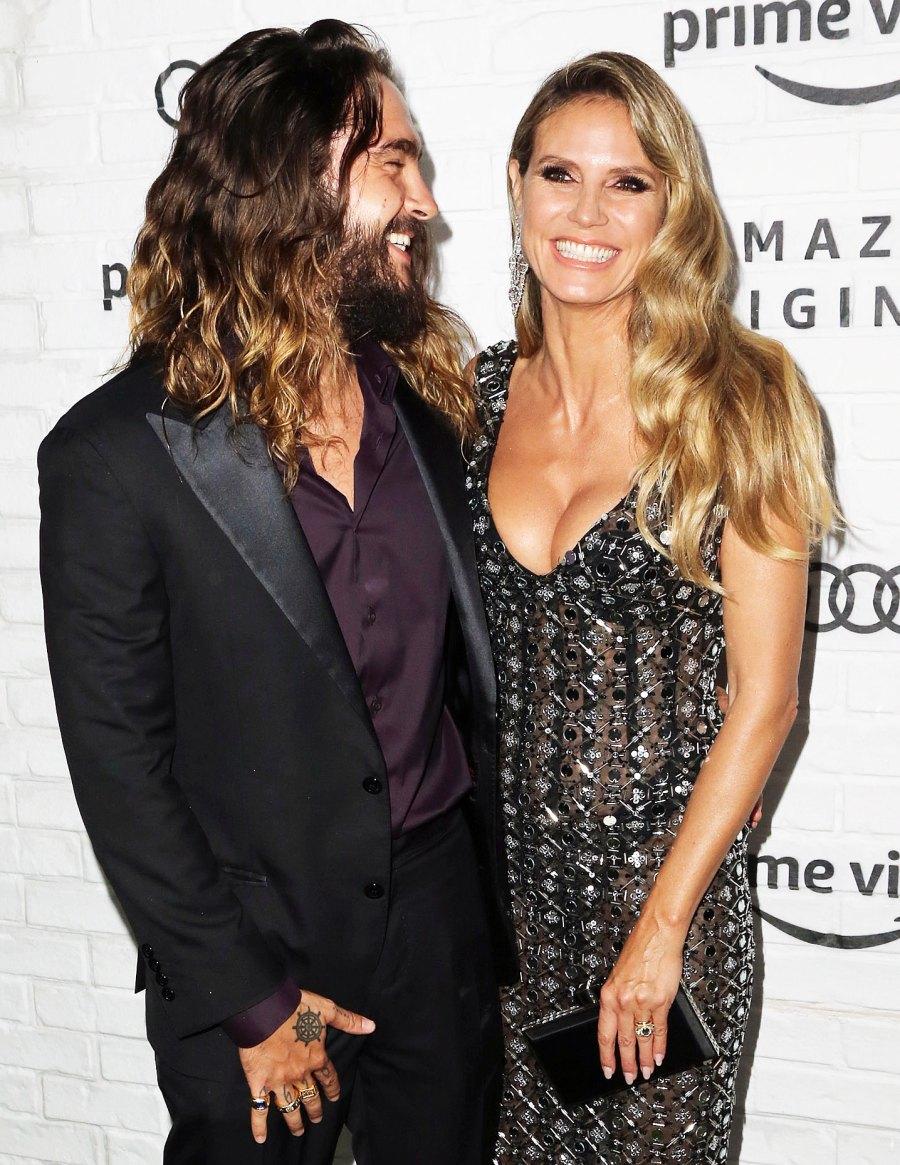 Tom Kaulitz and Heidi Klum Amazon Emmys 2019 After Party