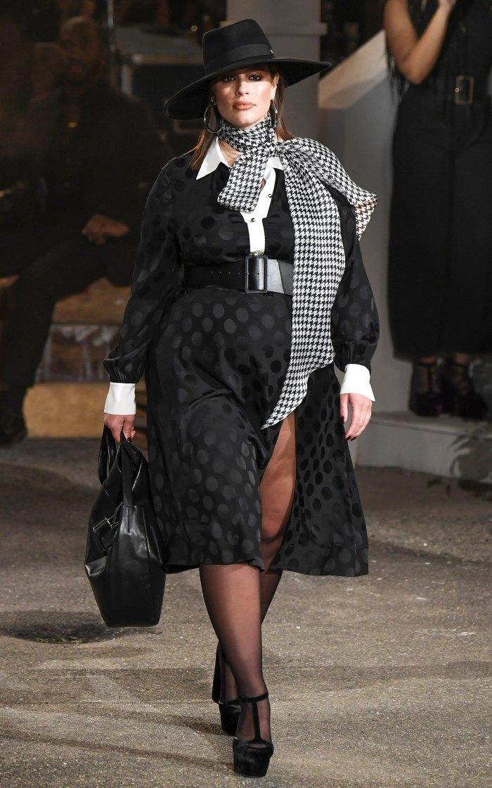 Tommy Hilfiger x Zendaya NYFW - Ashley Graham on the Catwalk