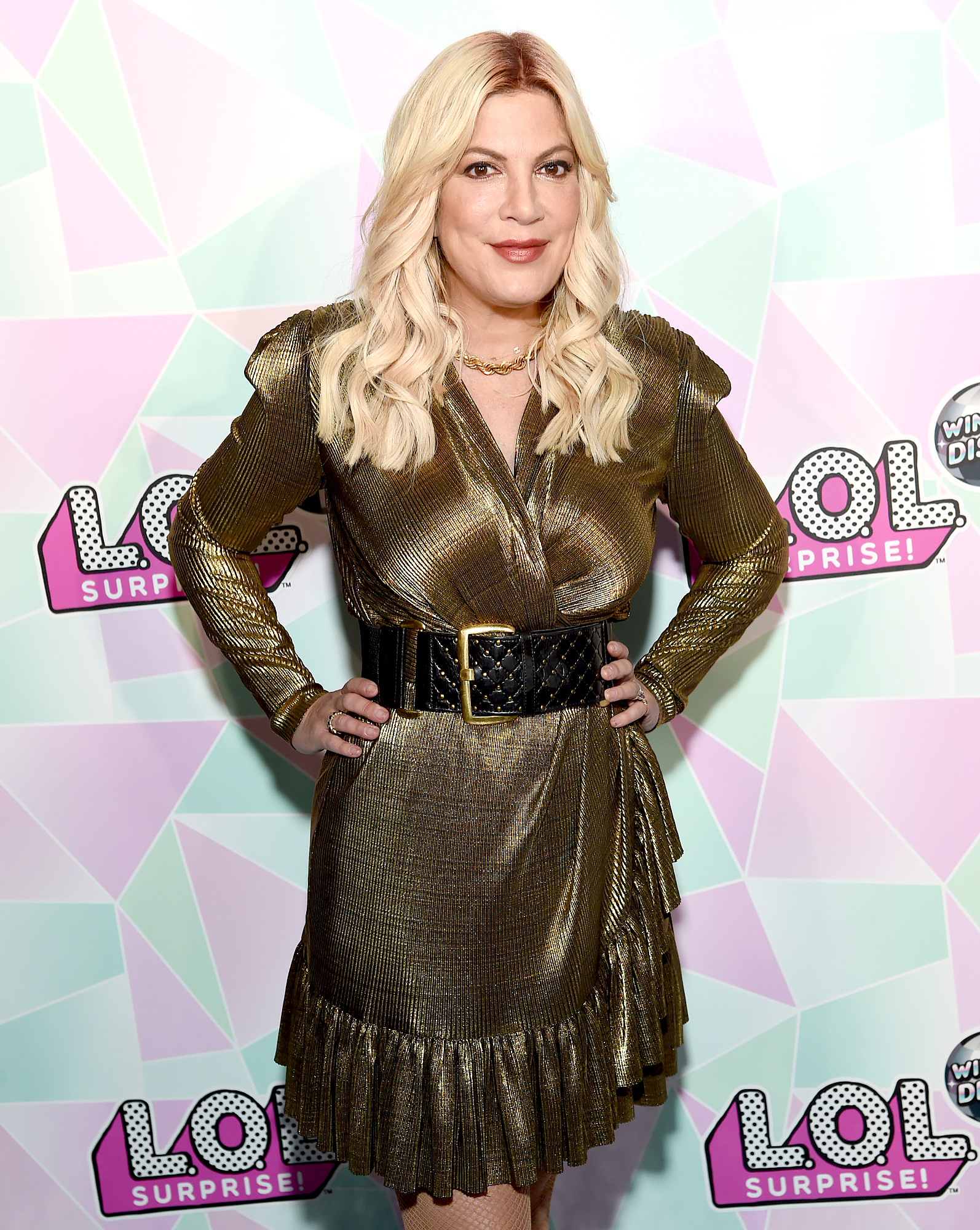Tori Spelling Says 'BH90210' Cast Thinks About Late Luke Perry 'Every Day'