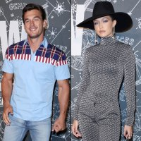 Tyler Cameron Supports Gigi Hadid Tommy Hilfiger Show NYFW Show