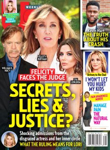 Us Weekly Cover Issue 3819 Felicity Huffman College Admissions Scandal