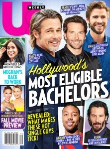 Us Weekly Cover Issue 3919 Hollywoods Most Eligible Bachelors