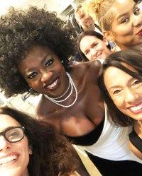 Viola Davis Emmys 2019 Stars Getting Ready