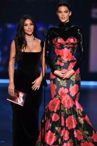 Kim Kardashian Kendall Jenner Emmys 2019
