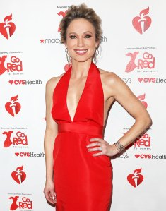 Amy Robach Red Dress February 7, 2019