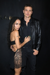 Celebrity Fashion: Zoe Kravitz and Karl Glusman First Red Carpet Appearance as Married Couple