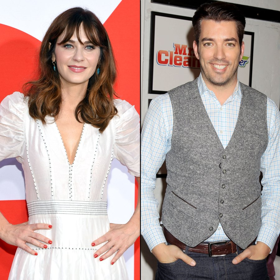 Zooey Deschanel Is Dating Property Brothers' Jonathan Scott After Split From Husband