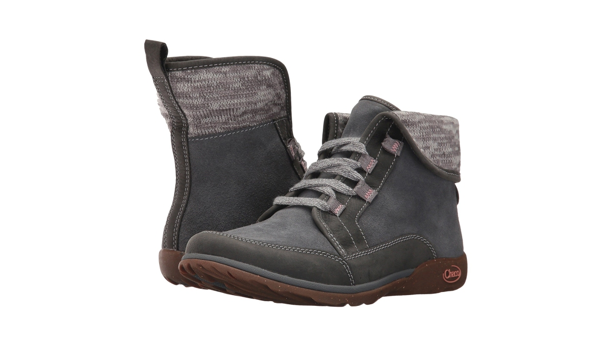This 20% Off Waterproof Leather Boot Is What 'Outdoorsy-Chic' Is All About