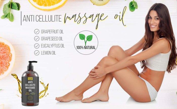Aceite de masaje anticelulítico M3 Naturals