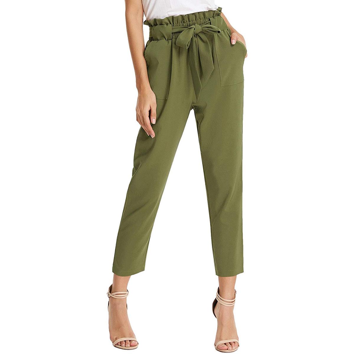 GRACE KARIN pants green