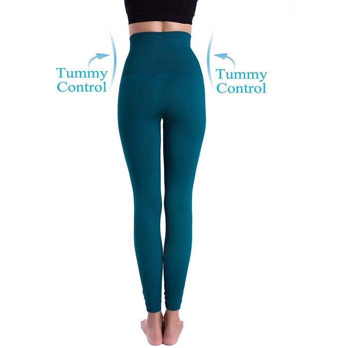 Leggings adelgazantes de compresión abdominal gruesos de cintura alta Homma Premium