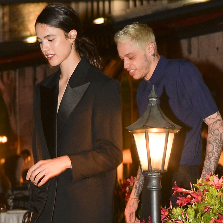 Pete Davidson and Margaret Qualley Step Out Together in Venice: Pics