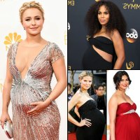 Pregnant Stars on the Emmys Red Carpet