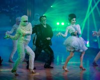 SEAN SPICER, LINDSAY ARNOLD 'DWTS' Halloween Week