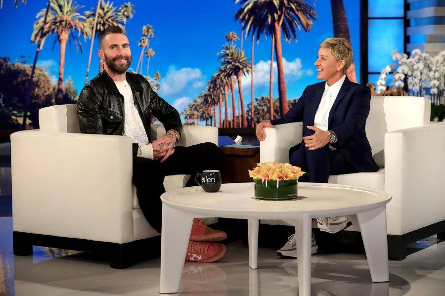 Adam Levine Interview Ellen DeGeneres Show