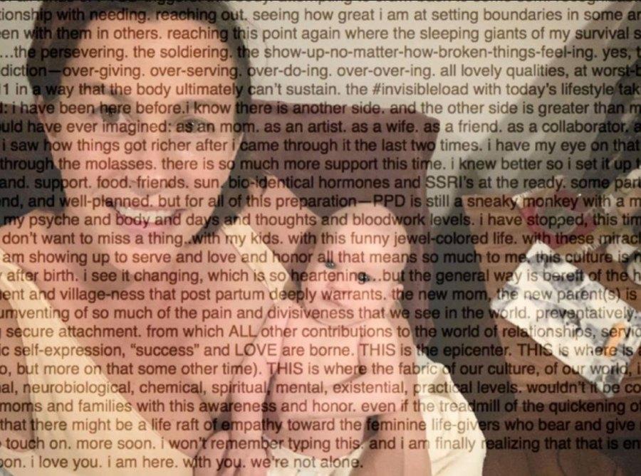 Alanis Morissette Postpartum Depression Mental Health
