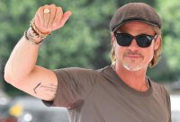 All of Brad Pitt's Tattoos - Right Bicep