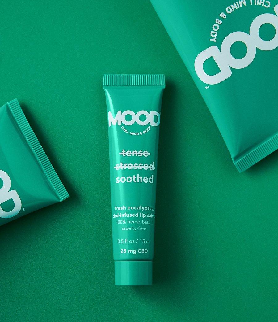 American Eagle MOOD Cosmetics Eucalyptus Lip Salve