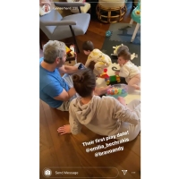 Andy Cohen's Son Meeting Celebs Ryan Serhant